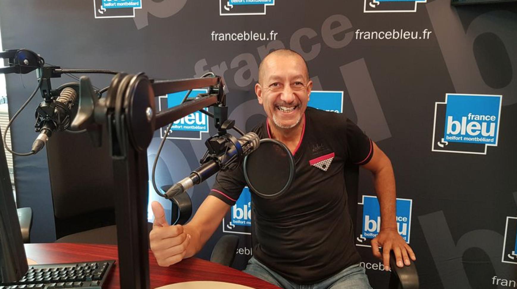 Coach Kader - émissions sur France Bleue Belfort-Montbéliard